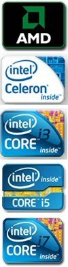 AMD and Intel Processors